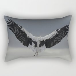 Spread your wings and land Rectangular Pillow