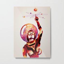 Creando mi propio universo // making my own universe Metal Print