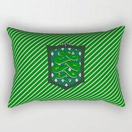 HP Slytherin House Crest Rectangular Pillow