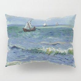 Seascape near Les Saintes-Maries-de-la-Mer Pillow Sham