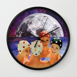 Whirlpool Nymphs Wall Clock