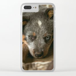 A Western Pup Clear iPhone Case