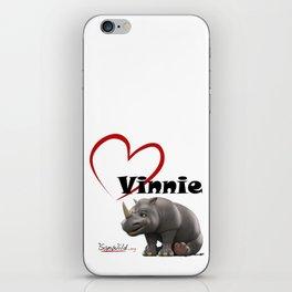 Love Vinnie  iPhone Skin