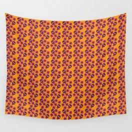Fiesta - Tangerine - Beautiful Bones Wall Tapestry