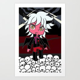 the Prince of Darkness Art Print