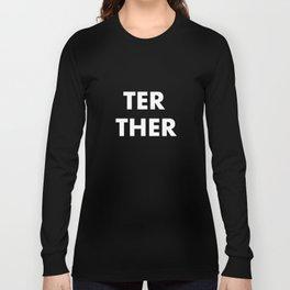 Be Together Matching Cute Romantic T-shirt Long Sleeve T-shirt
