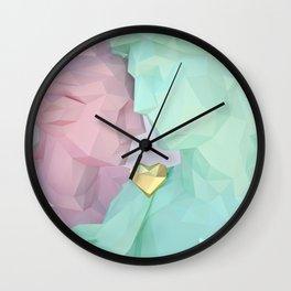 Close Lovers Wall Clock