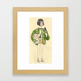 Mathilda Framed Art Print