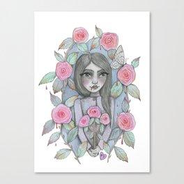 creepy garden Canvas Print