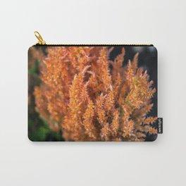 Orange Celosia Carry-All Pouch