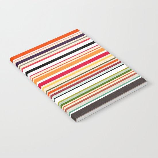 apartment stripe Notebook