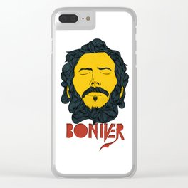 Bon Iver Clear iPhone Case
