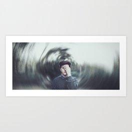 im a mess Art Print