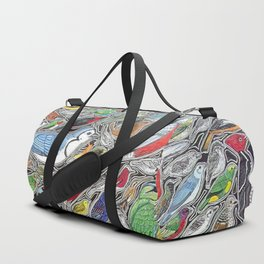 Toucans, parrots and tropical birds of Costa Rica Duffle Bag