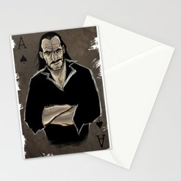 The Real Ace of Spades Stationery Cards