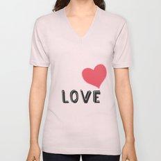Love Unisex V-Neck