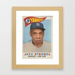 Jay Z Stengel Framed Art Print