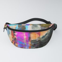 Artful Spirit Mosaic Bold Pattern Colorful Geometric Abstract - Corbin Henry Fanny Pack