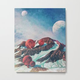 Day 0453 /// Party / still no moon butt Metal Print