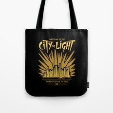 Welcome to the City of Light Tote Bag