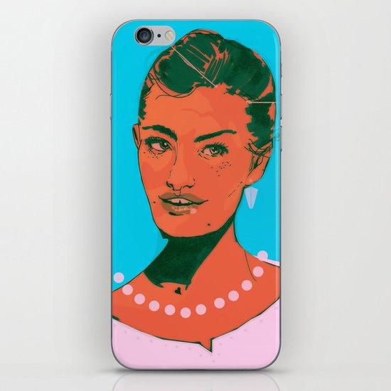 Here I Am iPhone & iPod Skin