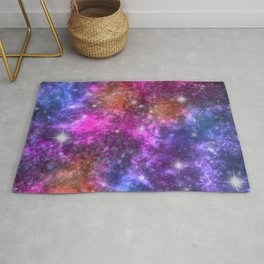Hot & Cold Space Sparkles Rug