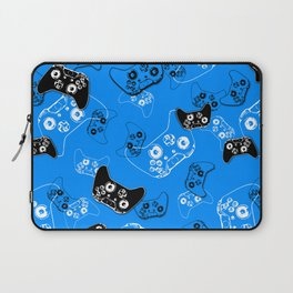 Video Game in Blue Laptop Sleeve