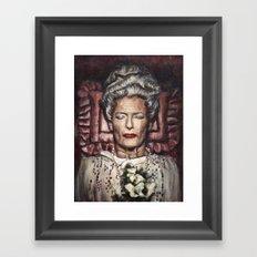 Tilda Swinton / Grand Budapest Hotel / Wes Anderson / Madame D. Framed Art Print