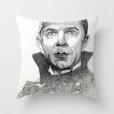 Dracula Bela lugosi Throw Pillow
