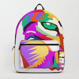 art cat Backpack
