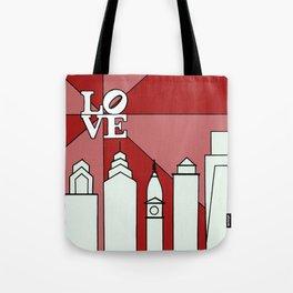 LOVEred Tote Bag