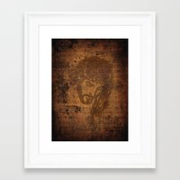 jesus Framed Art Prints featuring  Jesus  by OnlineGifts
