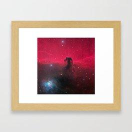 Horsehead Nebula Framed Art Print