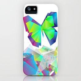 break free butterfly iPhone Case