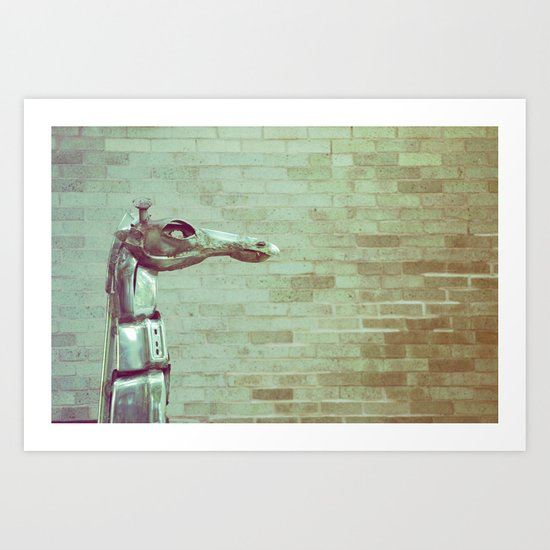 Urban Animal Art Print