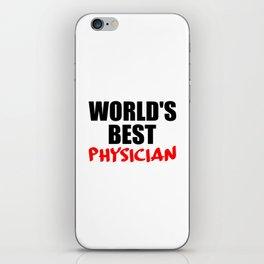 worlds best doctor iPhone Skin