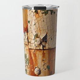 Four Square Paint Texture Travel Mug