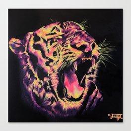 Tigger Does LSD Canvas Print