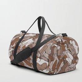 Chocolate Coffee Body Slugs Duffle Bag