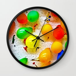 Hit or Miss Wall Clock