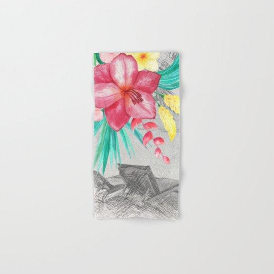Tropical beach #4 Hand & Bath Towel