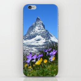 Matterhorn, Switzerland iPhone Skin