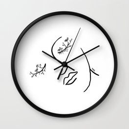 Floweyes Wall Clock