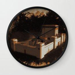 Temple of Solomon Wall Clock