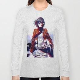 Mikasa Ackerman Attack On Titan Long Sleeve T-shirt