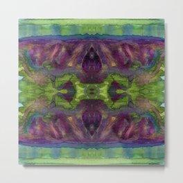 Watercolor Strength Print No. 2 Metal Print