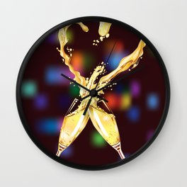 love glasses Wall Clock