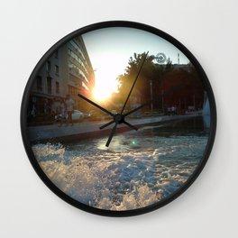 Beaming in Belgrade. Wall Clock