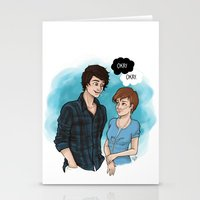 the fault Stationery Cards featuring The Fault In Our Stars by Laia™