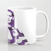 megan lara Mugs featuring Fashion Lara Stone by fashionistheonlycure